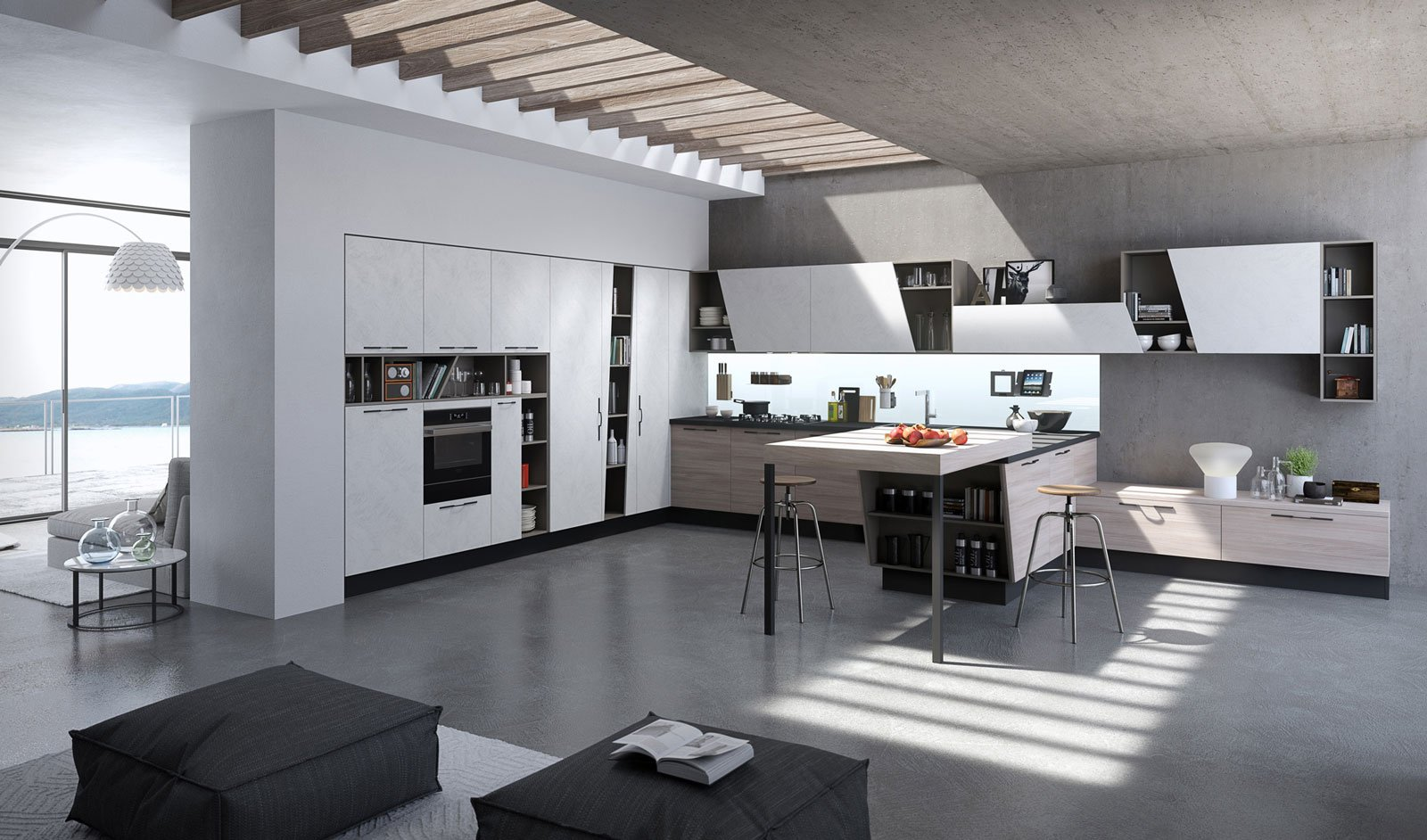 MagnetoLab in cucina, lo schienale in vetro magnetico | Elite ...